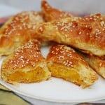 Pumpkin (Butternut squash) turnovers recipe