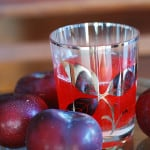 Fresh plum kompot – a cold drink for a hot summer day