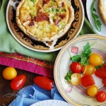 Bacon Quiche Tartlets