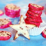 Cranberry noels, Christmas cookies
