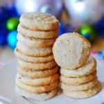 Pecan shortbread cookies - Christmas cookies
