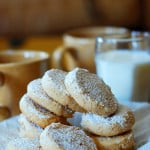 Hazelnut shortbread cookies recipe