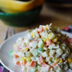 Potato salad with tuna - Olivier Salad