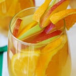 White Sangria: Peaches, Apples, Oranges