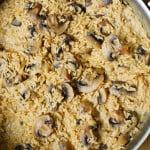 Easy mushroom risotto (Gluten Free)