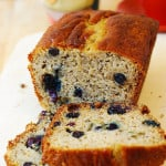 Blueberry banana bread (gluten free)