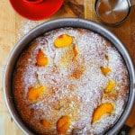 Peach yogurt cake (gluten free)