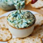Spinach and Spaghetti Squash dip