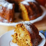 Pumpkin apple spice bundt cake