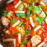 Chicken Vegetable Soup with Pasta