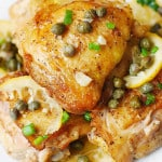 Oven Baked Chicken Piccata