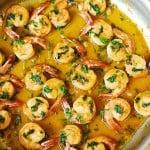 Cilantro-Lime Honey Garlic Shrimp
