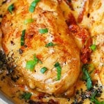 Chicken Breast with Creamy Sun-Dried Tomato Sauce
