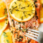 Orange Rosemary-Thyme Salmon