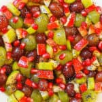 Fruit Salad with Honey Lime Poppy Seed Dressing