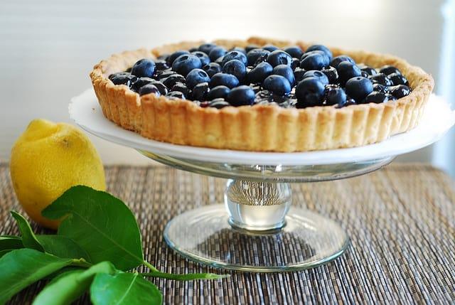 Blueberry Tart, pie, crust, filling, recipe