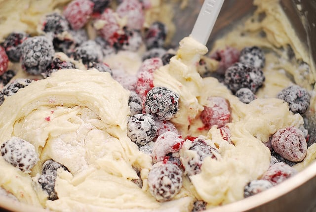 Mixed Berry Bundt Cake Recipe