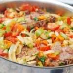 lagman lamb and vegetable stew