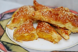 Butternut squash turnovers recipe