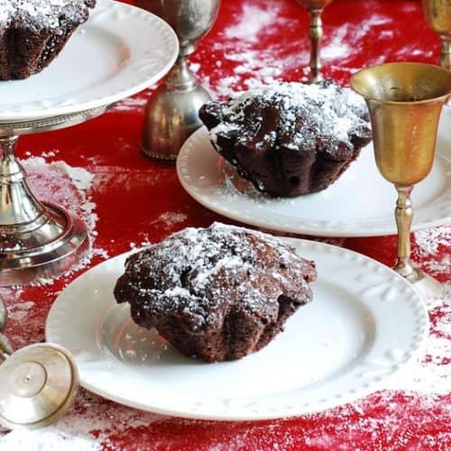Dark Chocolate Coffee Cupcakes