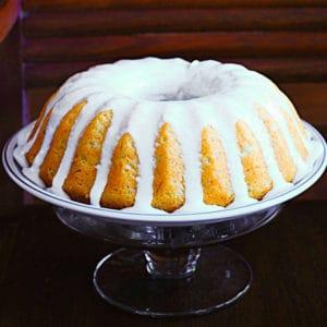 Banana Buttermilk Bundt Cake