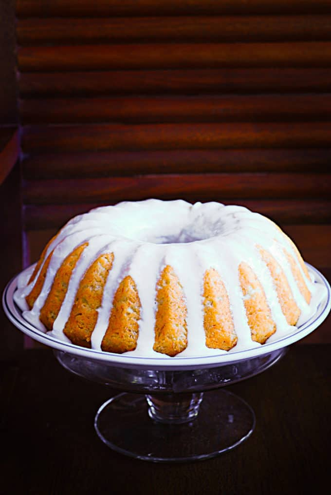 Banana Buttermilk Bundt Cake