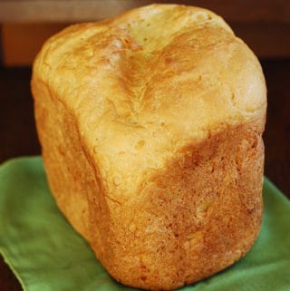 how to make basic white bread in a bread machine