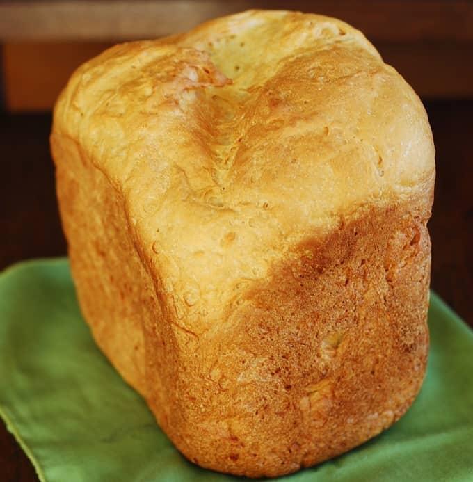 Bread Machine Recipe How To Make Homemade White Bread Less Dense