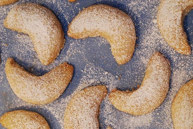 Almond Crescent Christmas Cookies Julia S Album