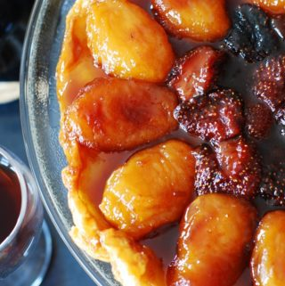 strawberry apple tarte tatin