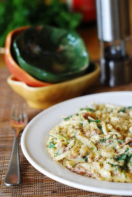 Easy pasta carbonara – perfect weeknight dish