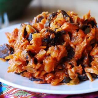 Braised cabbage, solyanka
