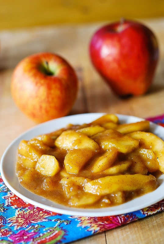 Sweet cooked apples recipe