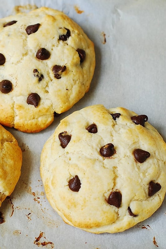 chocolate chip shortcakes