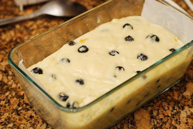 Lemon Blueberry Bread, how to make blueberry lemon bread