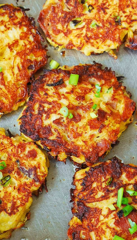 Bacon spaghetti squash fritters, how to cook spaghetti squash