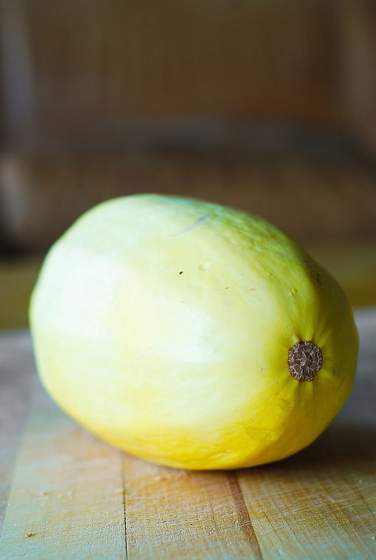whole uncooked spaghetti squash