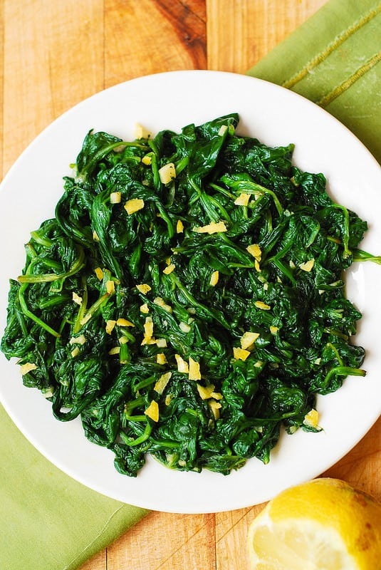 How To Cook Fresh Spinach Julia S Album