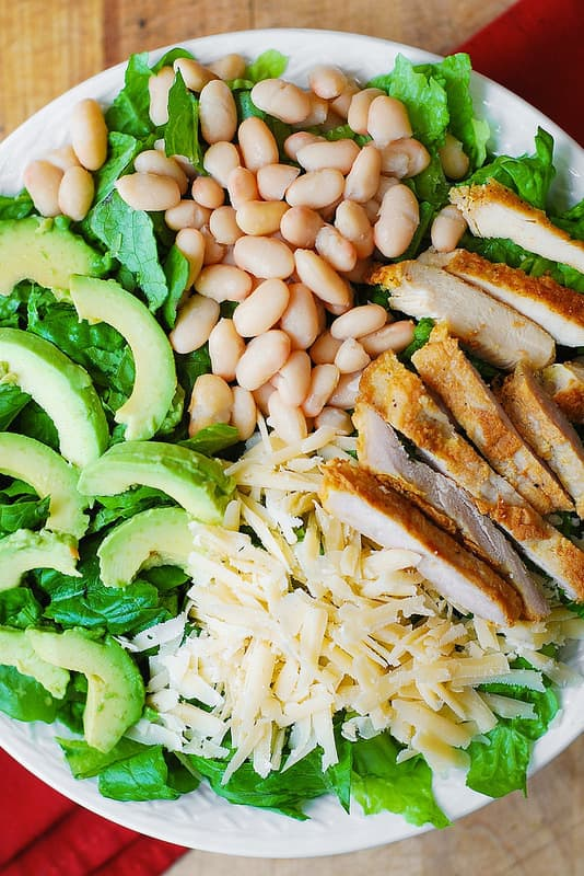 chicken Caesar salad recipe, recipe for Caesar salad, easy Caesar salad recipe,  gluten free salad