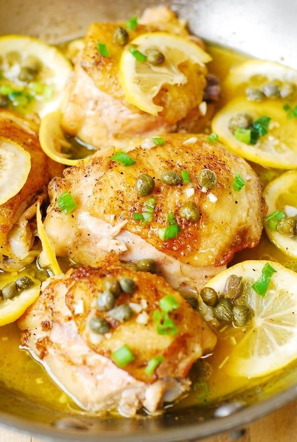 chicken thighs, chicken dinners, chicken recipes