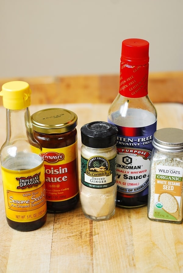ingredients for chicken stir-fry sauce