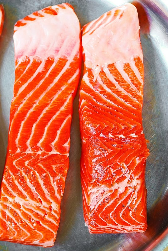 Steelhead Trout fish fillets
