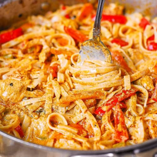 Mexican chicken pasta