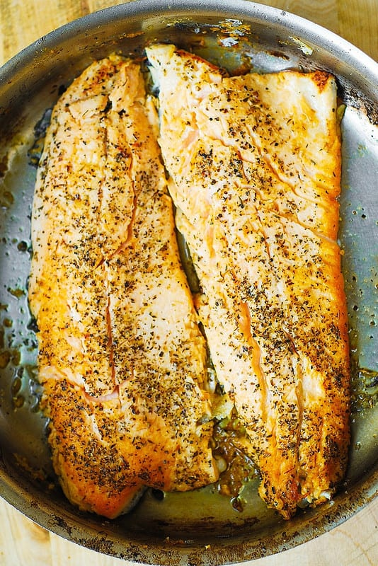 healthy fish recipes, easy fish recipes, how to cook trout, trout recipes