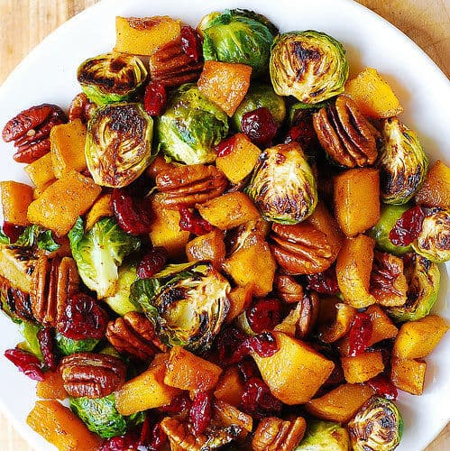 Roasted Brussels Sprouts and Cinnamon