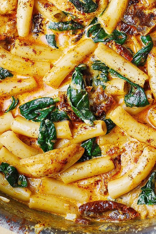 chicken pasta dinner, easy chicken dinners, easy pasta dinners, weeknight dinner recipes
