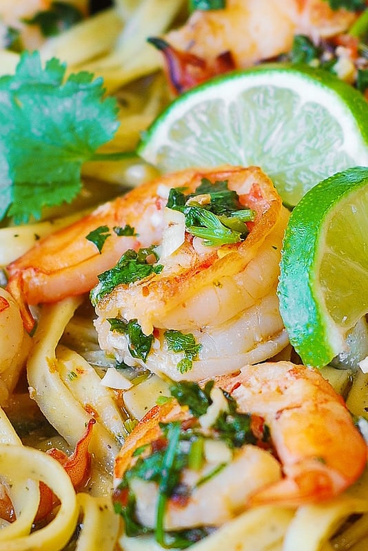 cilantro lime shrimp recipe, seafood pasta, seafood recipes