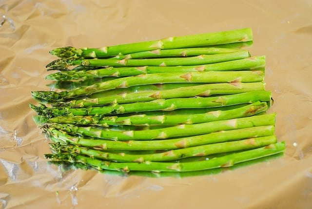 asparagus, how to cook asparagus, fish and veggies, fish and vegetables