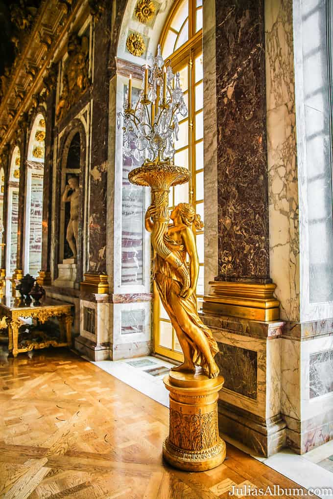 Palace of Versailles: Interior Apartments - Julia\'s Album
