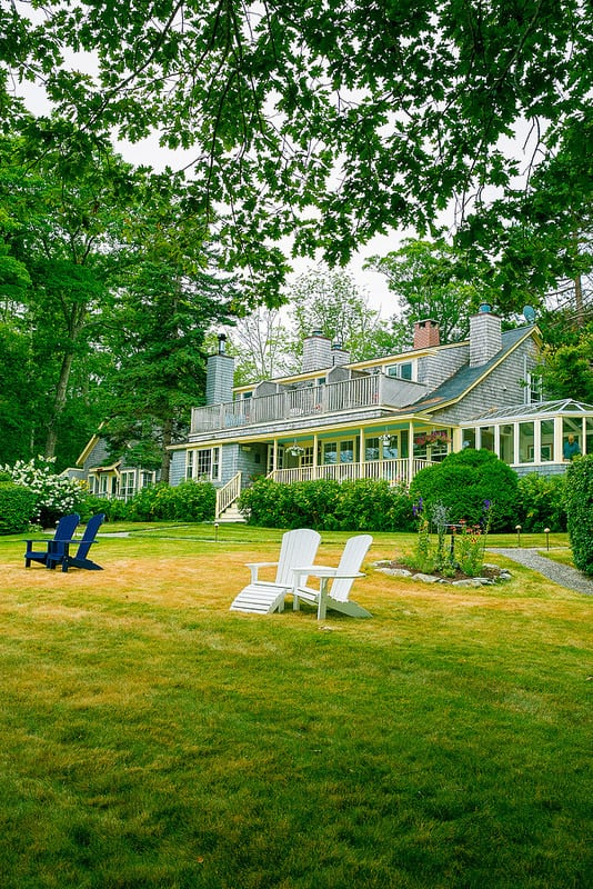 luxury Camden, Maine bed and breakfast, luxury oceanfront inn